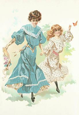 New York 1904 Fashion Art 11 Poster