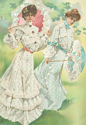 New York 1904 Fashion Art 5 Poster