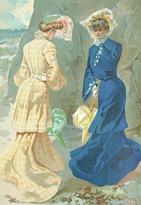 New York 1904 Fashion Art 6 Poster