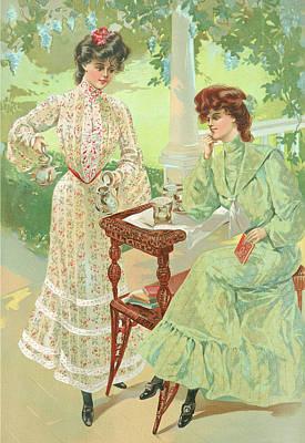 New York 1904 Fashion Art 7 Poster