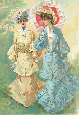 New York 1904 Fashion Art 8 Poster