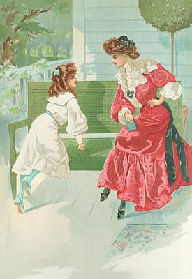 New York 1904 Fashion Art 9 Poster