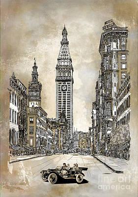 New York 1910 Poster