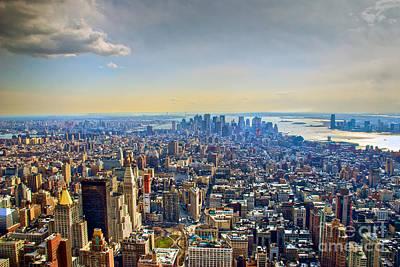New York City - Manhattan Poster by Mark Dodd