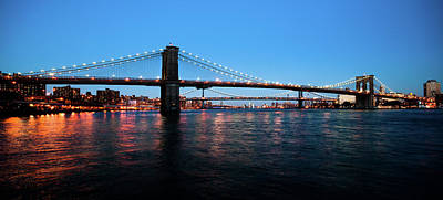 New York City Bridges Poster