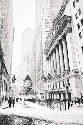 New York City Christmas Poster