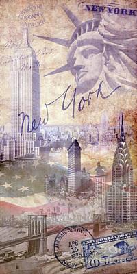 New York City Poster by Jon Neidert