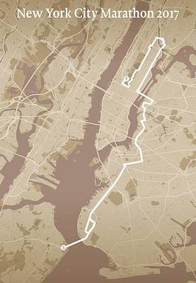 New York City Marathon #1 Poster