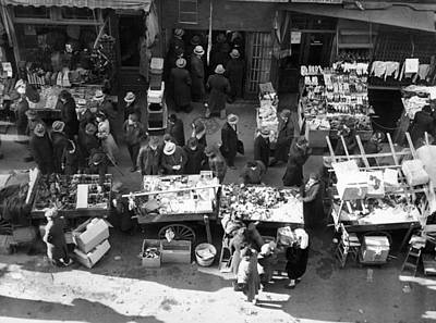 New York City, The Essex Street Market Poster by Everett