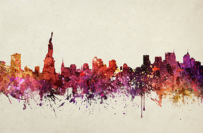New York Cityscape 09 Poster