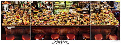 The New York Diner Poster