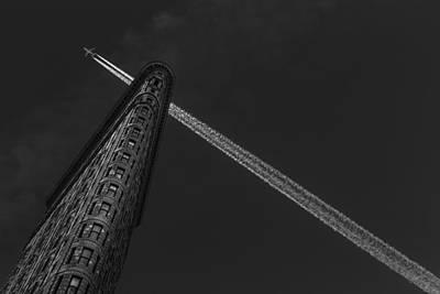 New York - Flatiron Crossing Poster by Michael Jurek