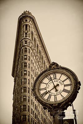 New York Flatiron Poster by Juergen Held