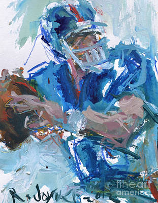 New York Giants Artwork Poster by Robert Joyner