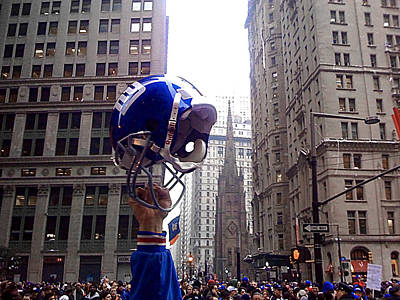 New York Giants Champs Poster