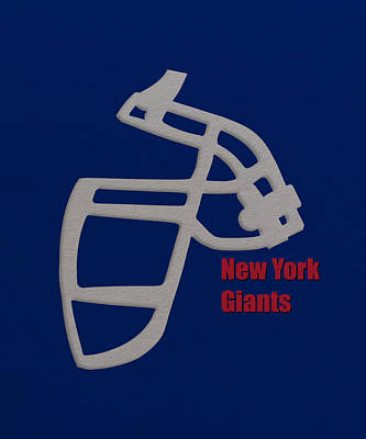 New York Giants Retro Poster by Joe Hamilton