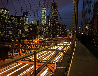 New York Lights Poster