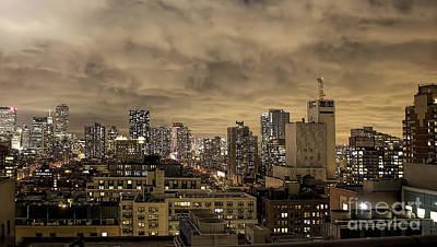 New York Moody Evening Poster