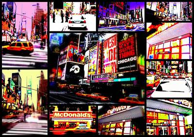 New York New York  Poster by Funkpix Photo Hunter
