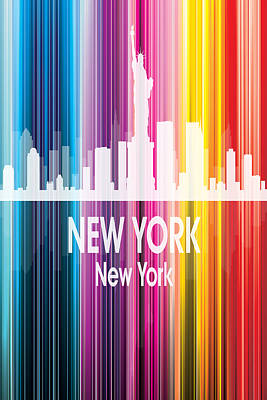 New York Ny 2 Vertical Poster