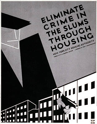 New York, Poster Promoting Planned Poster by Everett