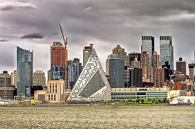 New York Skyline Buildings Poster by Geraldine Scull