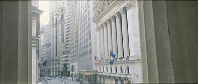 New York Stock Exchange Wall St New Poster