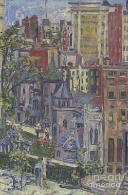 New York  The Little Church Around The Corner, 1920 Poster by Dorothea Adelheid Dreier
