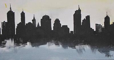New Yorks Manhatten Poster