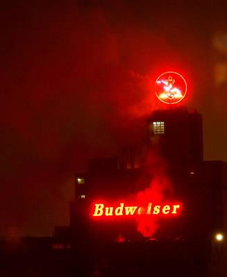 Newark Budweiser Poster