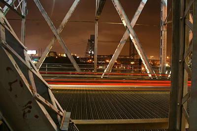 Newark-kearny Bridge New Jersey Poster by Kelly Johnson