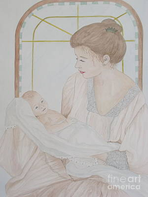 Newborn - Jacqueline Ruby Poster by Patti Lennox