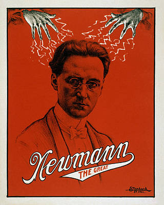 Newmann The Great - Vintage Magic Poster by War Is Hell Store