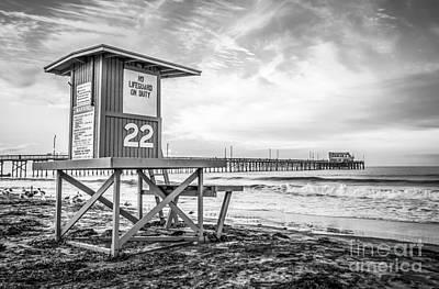 Newport Beach Lifeguard Tower 22 Photo Poster
