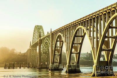 Poster featuring the photograph Newport Bridge by Jim Adams