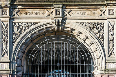 Newport Market Entrance Poster by Steve Purnell