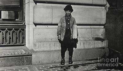 Newsboy, 1909 Poster