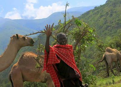 Ngorongoro Herder Poster