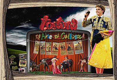 Ni Arte Ni Cultura Poster by Dydier Escobar