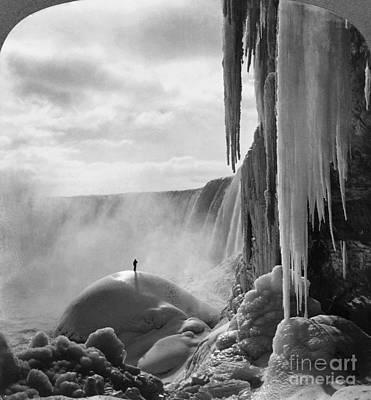 Niagara Falls: Frozen Poster by Granger