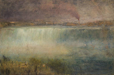 Niagara Poster by George Inness