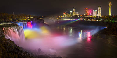 Niagara Rainbow Poster by Mark Papke