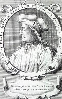 Niccolo Machiavelli Poster by Francois Morellon la Cave