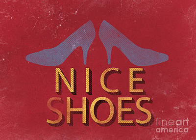 Nice Shoes  Poster by Edward Fielding