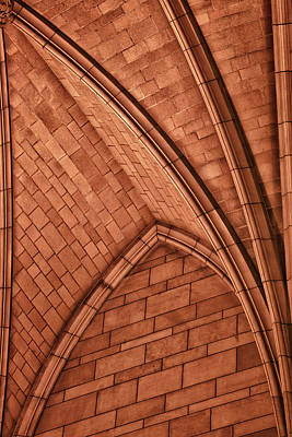 Niche - Cathedral Of Learning - University Of Pittsburgh Poster by Mitch Spence