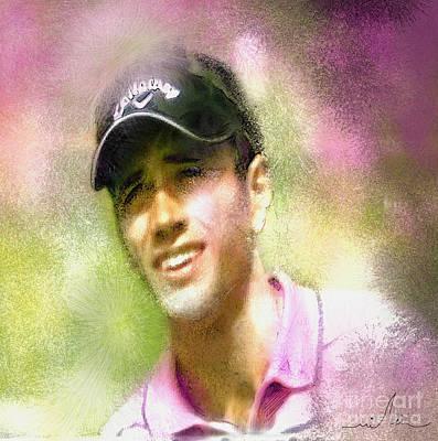 Nick Dougherty In The Golf Trophee Hassan II In Morocco Poster
