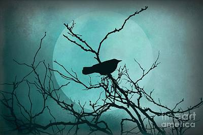 Night Bird Poster by Patricia Strand