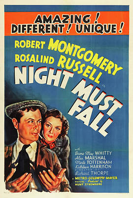 Night Must Fall 1937 Poster