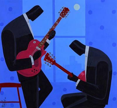 Night Rhythms Poster by Darryl Daniels