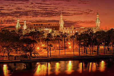 Nightfall In Tampa Poster